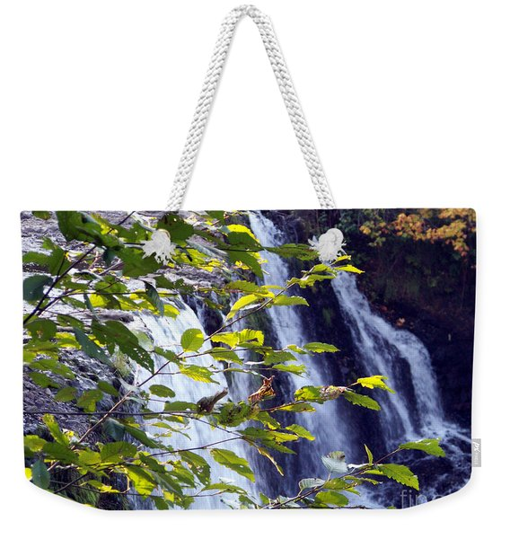 Upper Rock Creek Falls Weekender Tote Bag