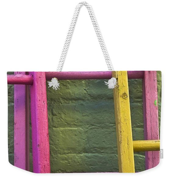 Weekender Tote Bag featuring the photograph Upwardly Mobile by Skip Hunt