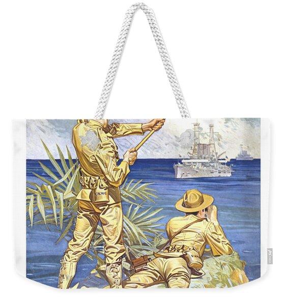 Us Marines - Ww1 Weekender Tote Bag