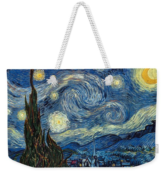 Van Gogh Starry Night Weekender Tote Bag