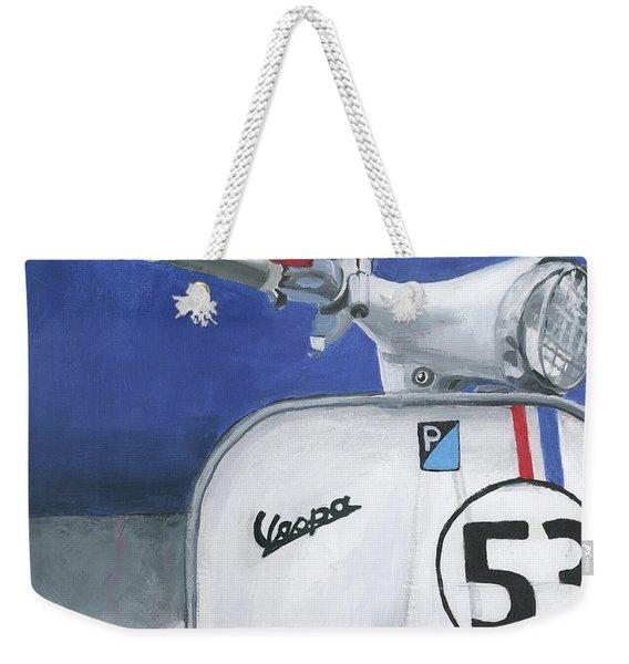 Vespa 53 Weekender Tote Bag