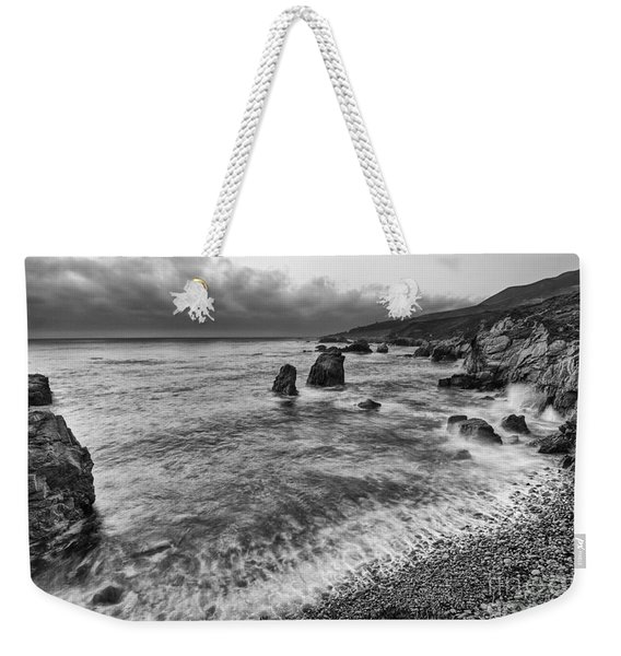 View Of The Rocky Coast From Soberanes Point In Garrapata State  Weekender Tote Bag