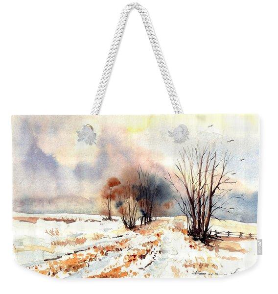 Village Scene Iv Weekender Tote Bag