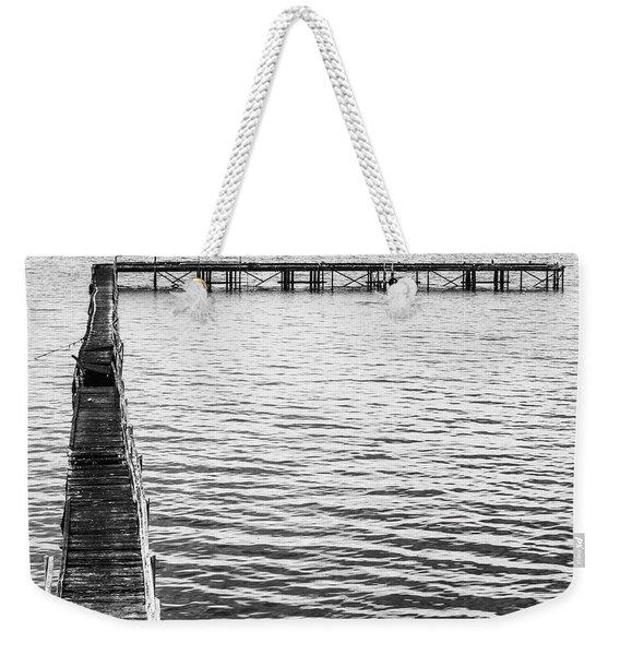Vintage Marine Scene Weekender Tote Bag