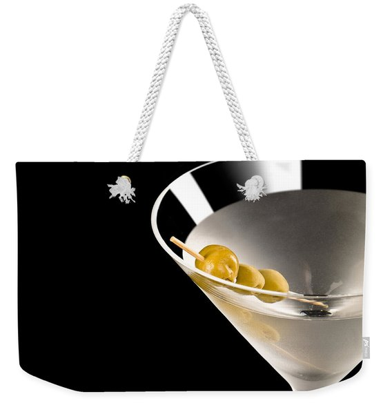 Vodka Martini Weekender Tote Bag