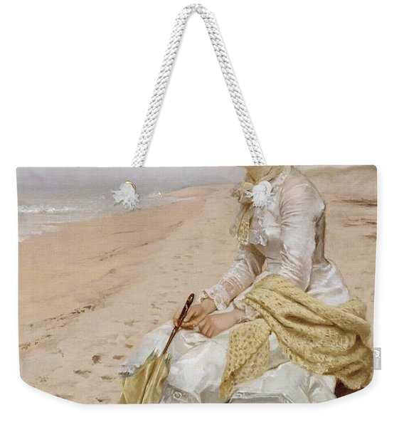 Waiting For William Weekender Tote Bag