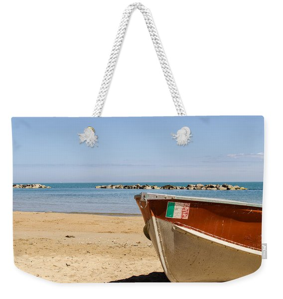 Waiting Summer Weekender Tote Bag