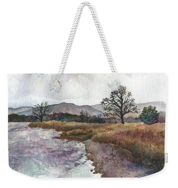 Walden Ponds On An April Evening Weekender Tote Bag