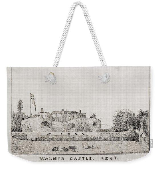 Walmer Castle Kent Weekender Tote Bag