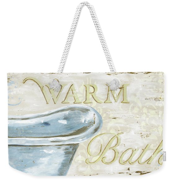 Warm Bath 2 Weekender Tote Bag
