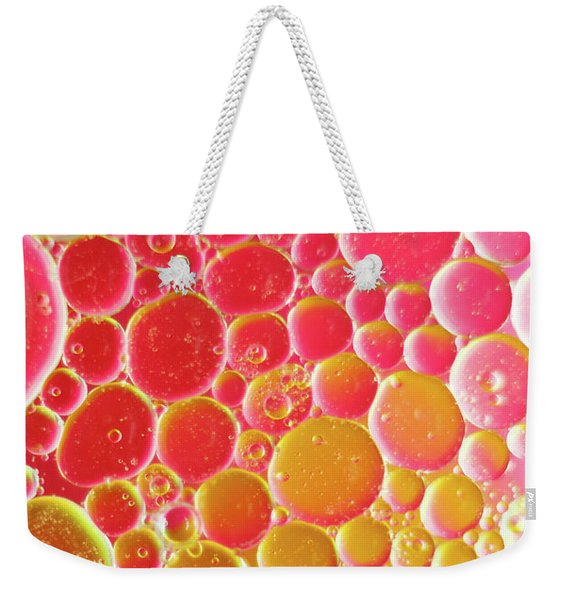 Water And Oil Bubbles Weekender Tote Bag