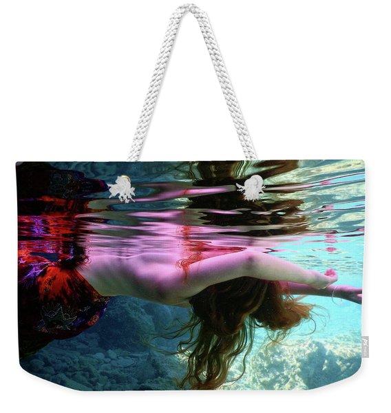 Water Reflection Weekender Tote Bag