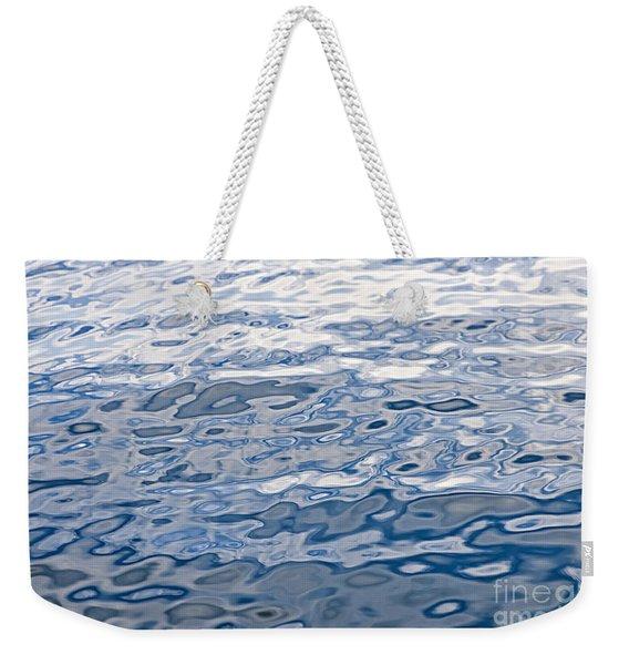 Water Surface Weekender Tote Bag