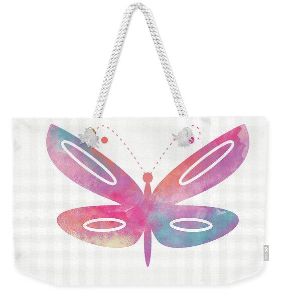 Watercolor Butterfly 2- Art By Linda Woods Weekender Tote Bag