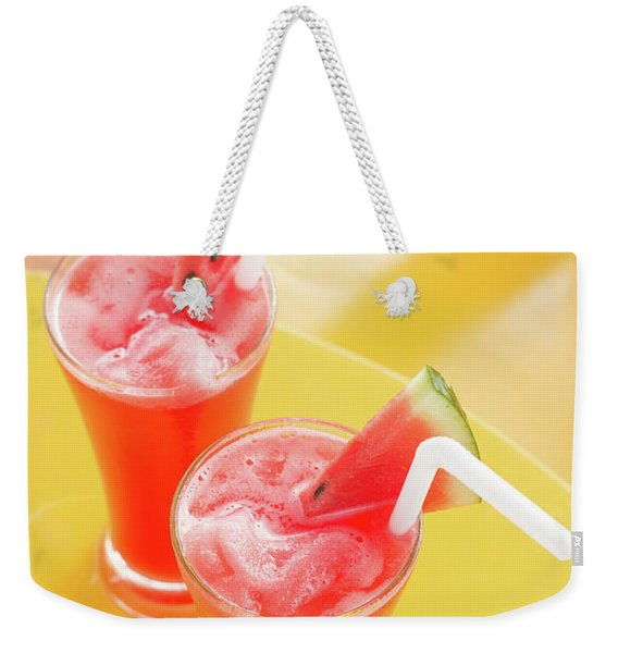 Waterlemon Smoothie Weekender Tote Bag