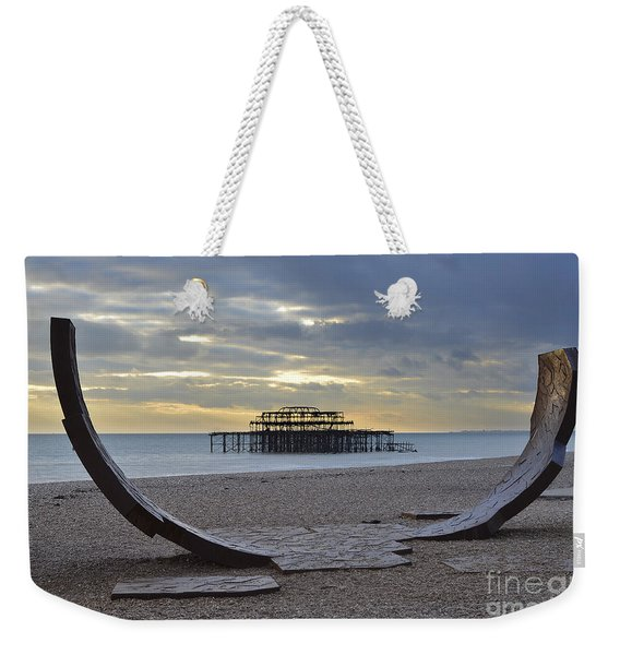 West Pier Brighton Weekender Tote Bag