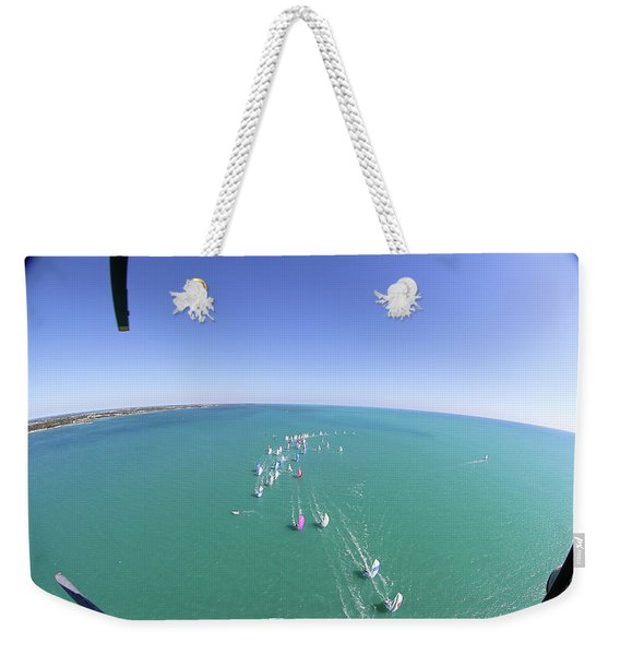 Whats That Sound Weekender Tote Bag