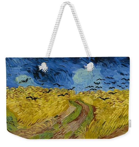 Wheatfield With Crows  Weekender Tote Bag