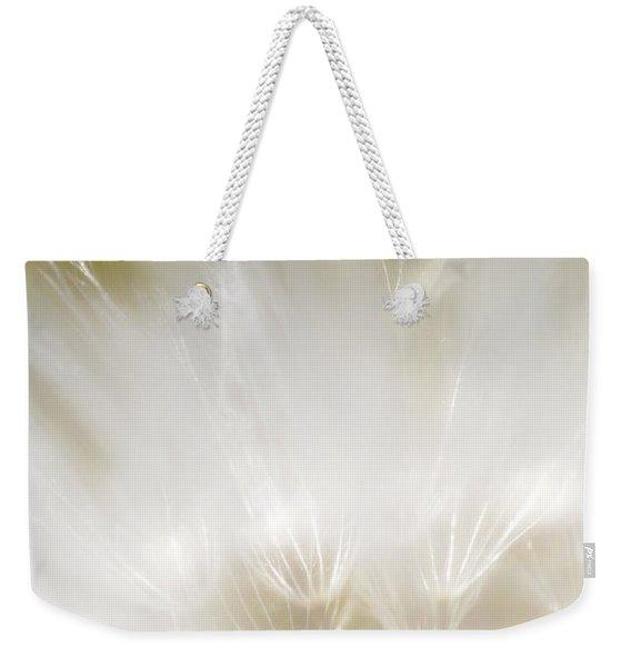 White Blossom 1 Weekender Tote Bag