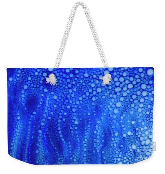 White Dots Weekender Tote Bag