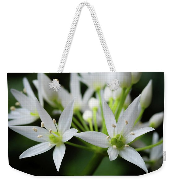 Weekender Tote Bag featuring the photograph Wild Garlic by Nick Bywater