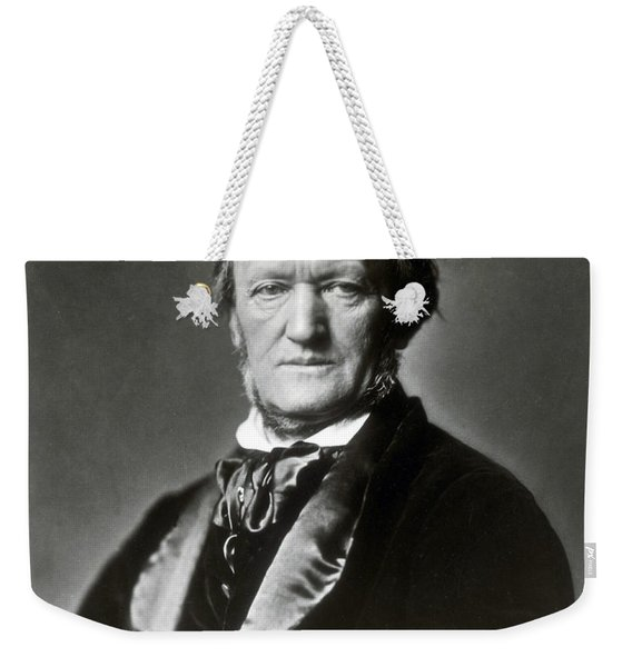 Wilhelm Richard Wagner, German Composer Weekender Tote Bag