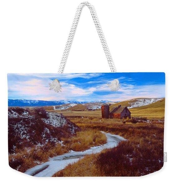 Willow Creek Barn Weekender Tote Bag