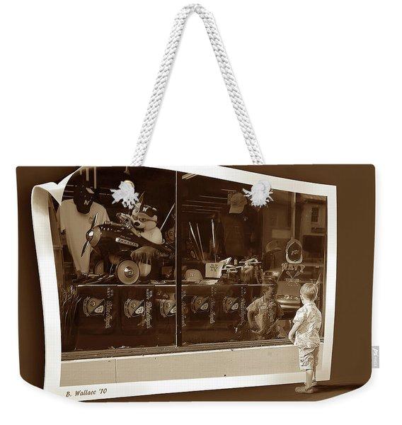 Window Dreaming Weekender Tote Bag