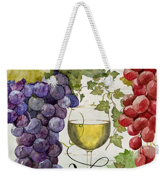 Wines Of Paris II Weekender Tote Bag