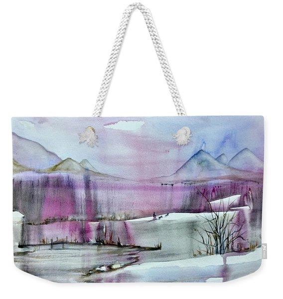 Winter Afternoon Weekender Tote Bag