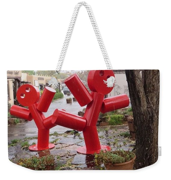 Wishing You #bright, #silly And #happy Weekender Tote Bag