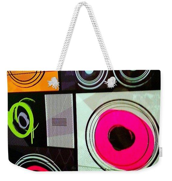 Wishing You #sweet #colorful #dreams Weekender Tote Bag