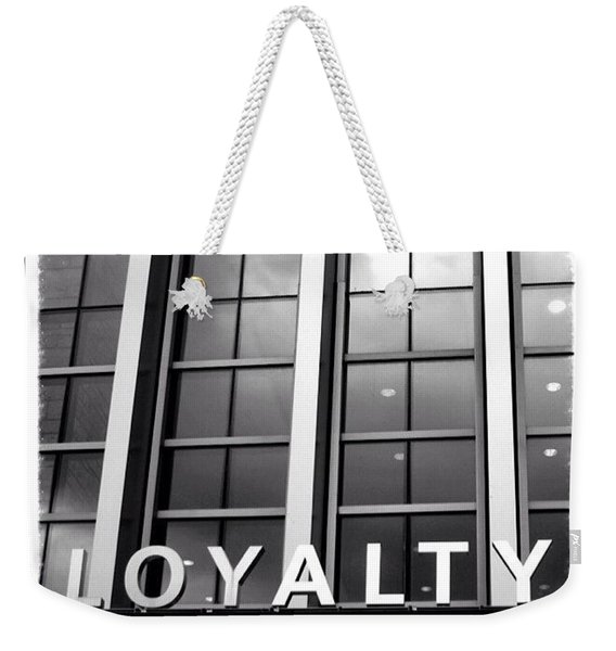 Yes, #loyalty. That Is Why I Own A Dog Weekender Tote Bag