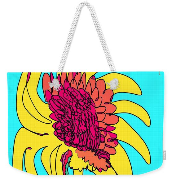 Yes. This Is A Flower, Child Weekender Tote Bag