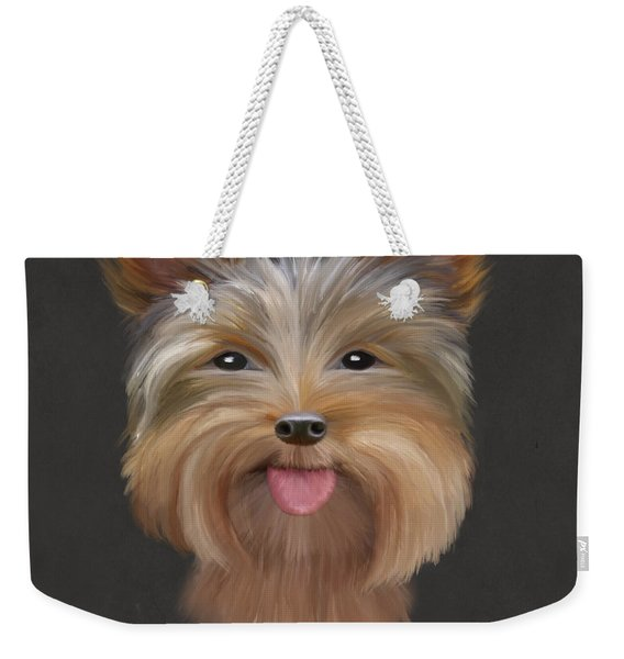 Yorkie Weekender Tote Bag