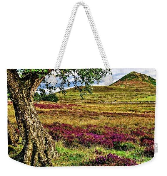 Yorkshire Moorland Heather Weekender Tote Bag