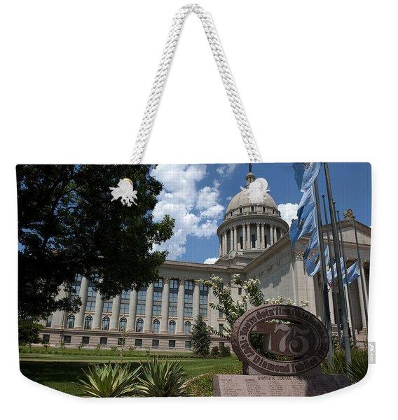 You're Doin Fine Oklahoma Weekender Tote Bag