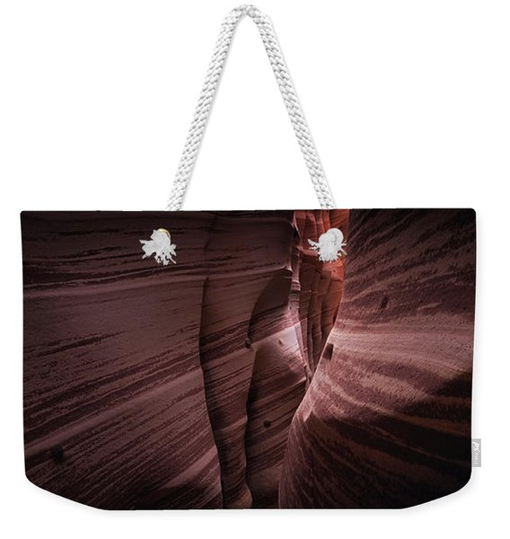 Zebra Canyon Weekender Tote Bag