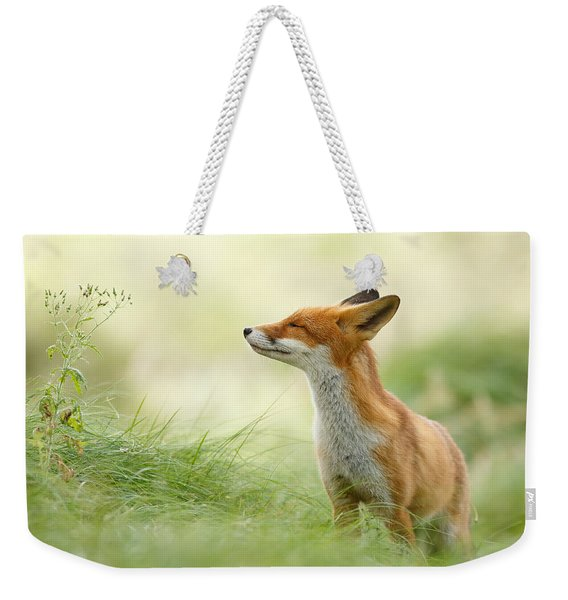 Zen Fox Series - Zen Fox Weekender Tote Bag