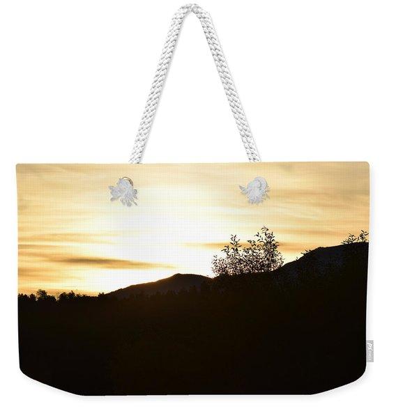 Sunrise Back Country Co Weekender Tote Bag