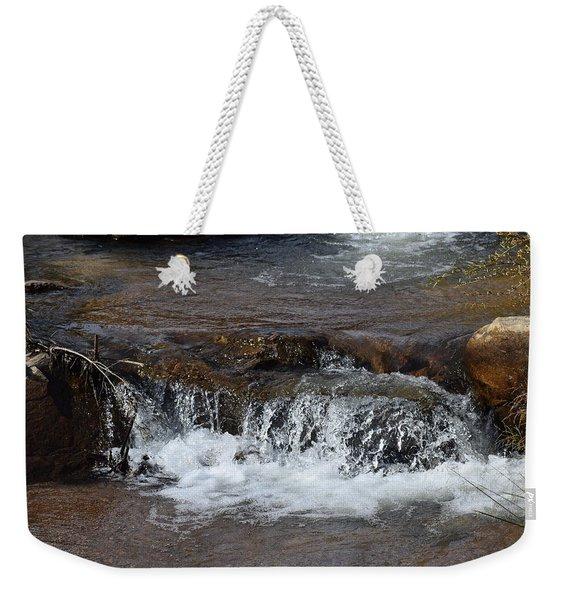 Waterfall Westcliffe Co Weekender Tote Bag