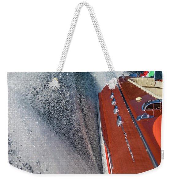 Aquarama Art Weekender Tote Bag