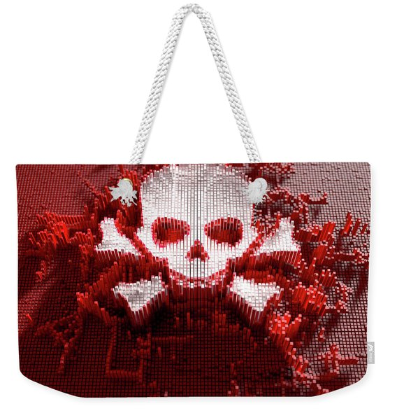 Skull And Cross Bones Cloner Weekender Tote Bag