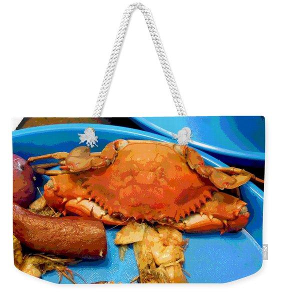 101516 Crab Boil Weekender Tote Bag