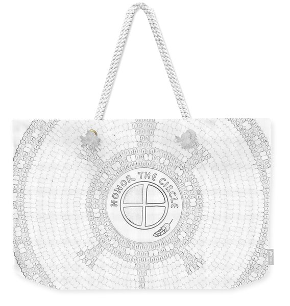 102007- Honor_the_circle Weekender Tote Bag