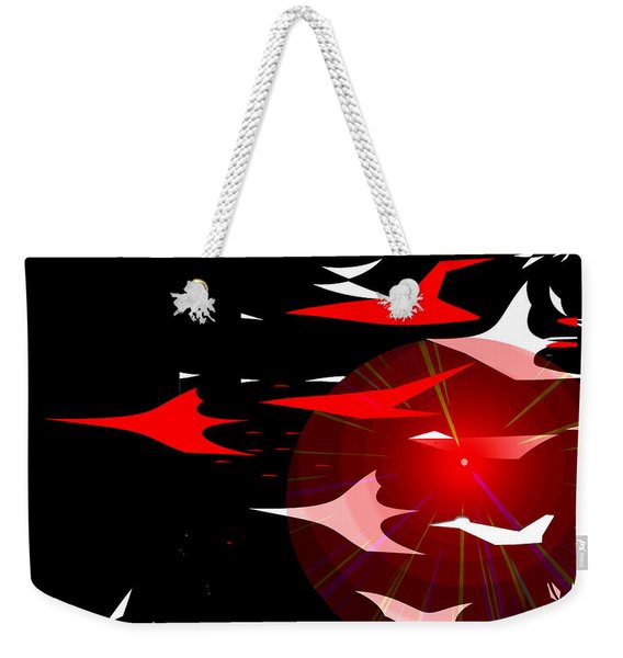 1027   There Was Something In The Air That Night A Weekender Tote Bag