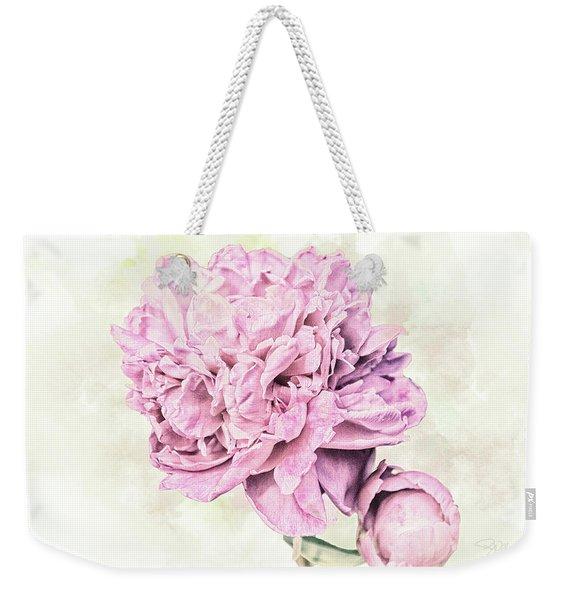 10861 Spring Peony Weekender Tote Bag