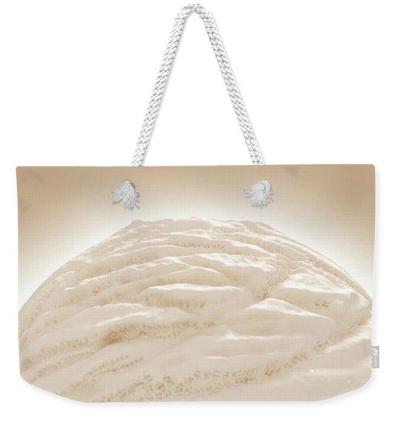 Ice Cream Scoop Weekender Tote Bag