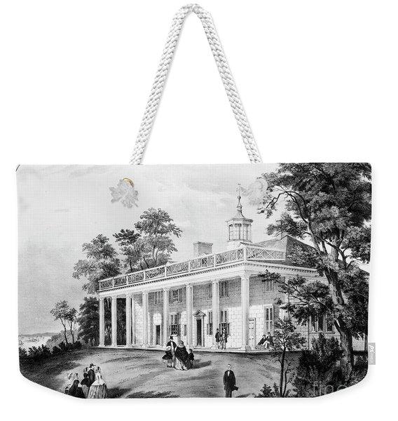 Mount Vernon. Weekender Tote Bag
