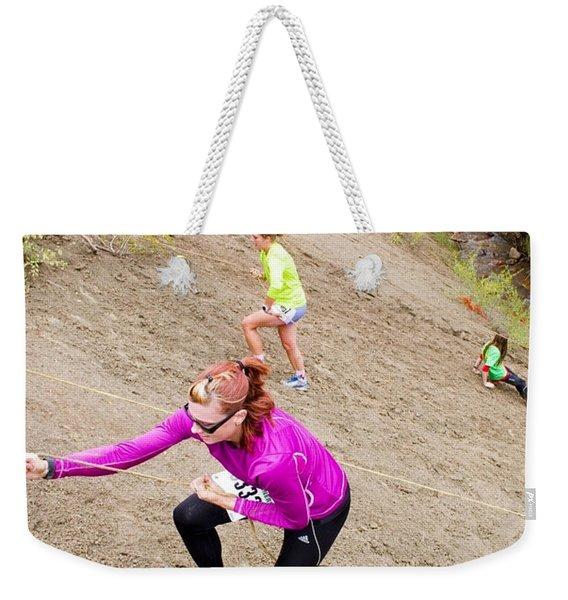 Pikes Peak Road Runners Fall Series Race Weekender Tote Bag